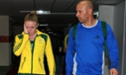 Sally Pearson and Eric Hollingsworth