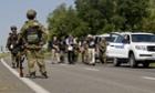 Separatists block the road