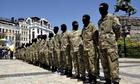New volunteers of Ukrainian self-defence battalion &quot