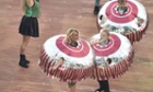 Performers dressed as Tunnocks chocolate teacakes perform during the opening ceremony of the 2014 Commonwealth Games