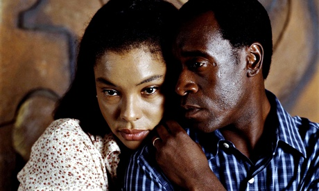 Sophie Okonedo and Don Cheadle in the 2004 film Hotel Rwanda