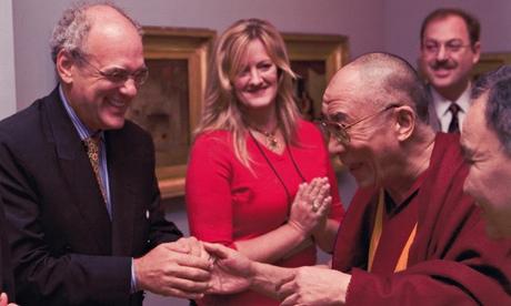 Shep Gordon meets the Dalai Lama