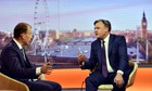 Ed Balls on The Andrew Marr Show