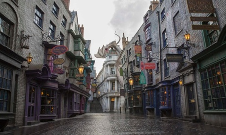 Harry Potter park expands as Universal adds Diagon Alley – in pictures
