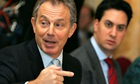 Tony Blair holds policy review