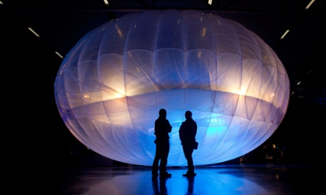 google project loon internet balloon