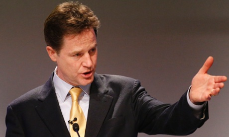 Nick Clegg has said in an interview he wouldn't want his children to pursue a career in politics.