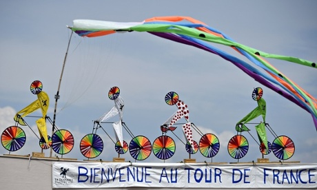 Tour de France sculptures