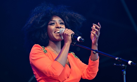 Laura Mvula at the 2014 Love Supreme Jazz festival