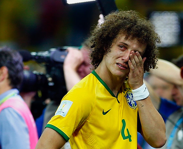 brazil mourns: It's all too much for David Luiz
