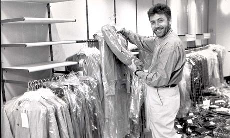 Fashion Designer Jeff Banks.