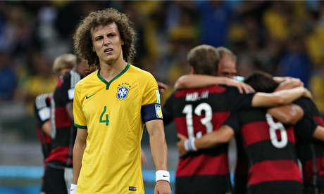 José Mourinho: dont blame Brazils David Luiz for Germany thrashing