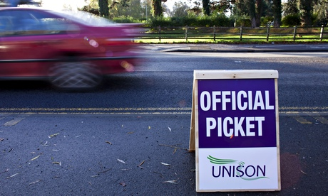 Unison are one of several public sector unions calling their members out on strike.