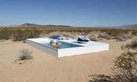 secret oasis the artist whos hidden a swimming pool in