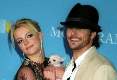 Britney Spears and ex-husband Kevin Federline