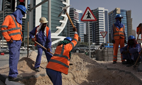 Migrant workers in Doha