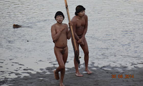 Amazon tribespeople