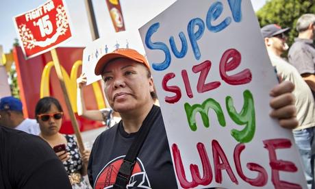 McDonald's workers go to court