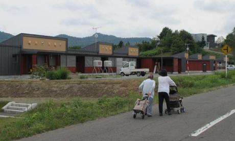 Residents in Yubari