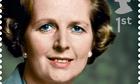 Margaret Thatcher stamp