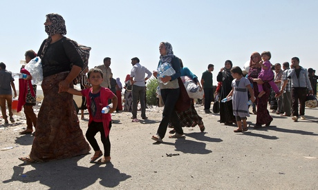 Those families in Iraq fleeing in terror from Isis killers  they are our problem