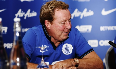 QPR manager Harry Redknapp. Busy in the off-season, as usual.