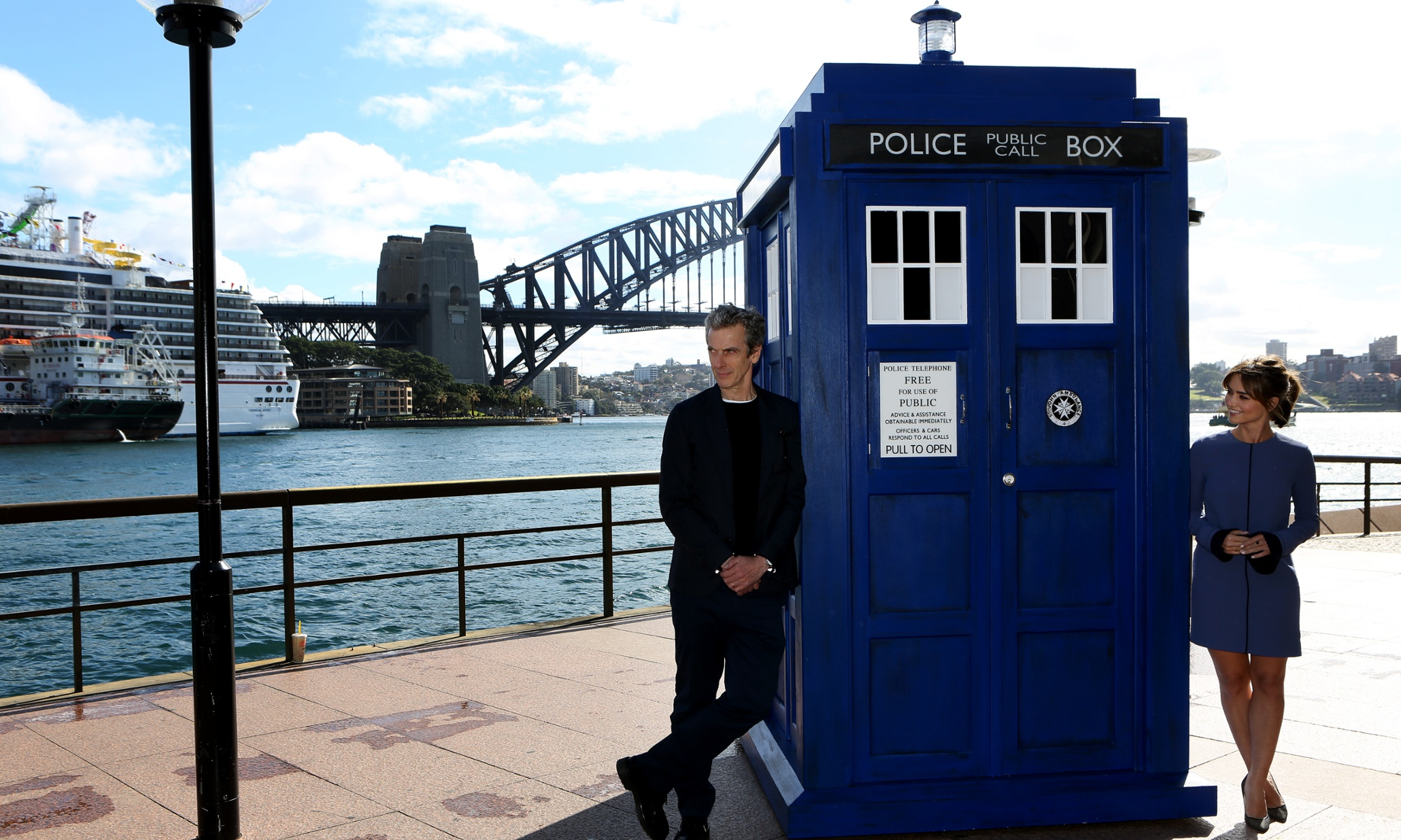Tardis Lands On Sydney Harbour As Doctor Who Takes A World