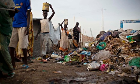 MDG : South Sudan crisis : IDP camp in Malakal