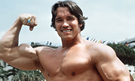 Arnold Schwarzenegger: good touch for a big man?