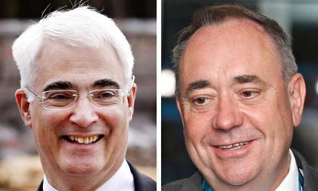 Better Together say Alistair Darling's performance in the TV debate with Alex Salmond has led to an
