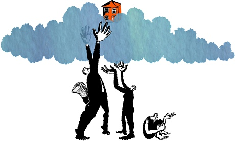 Inflated housing market
