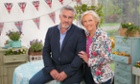 The heat is on … Paul Hollywood and Mary Berry are back with The Great British Bake Off.