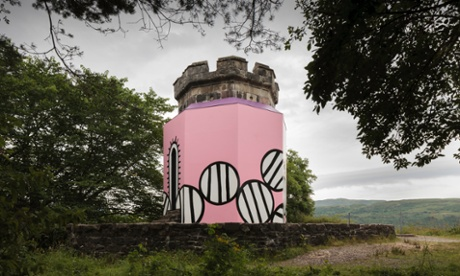 The Apothecary's Tower in Portree, Isle of Skye