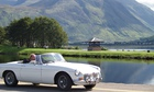 man in sports car, ben nevis