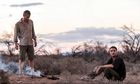 Guy Pearce and Robert Pattinson in the outback dystopia of The Rover.