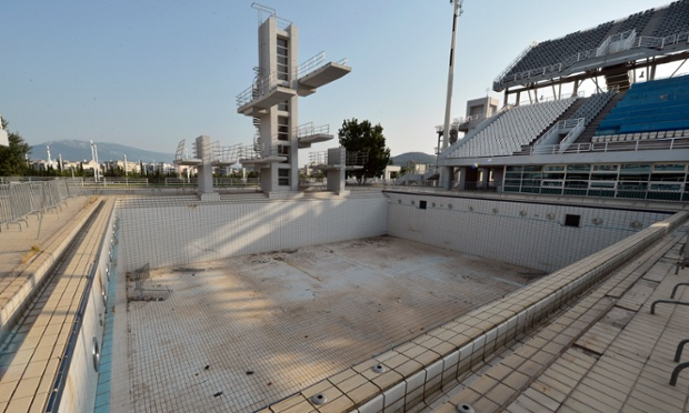 The Olympic Aquatic Centre.