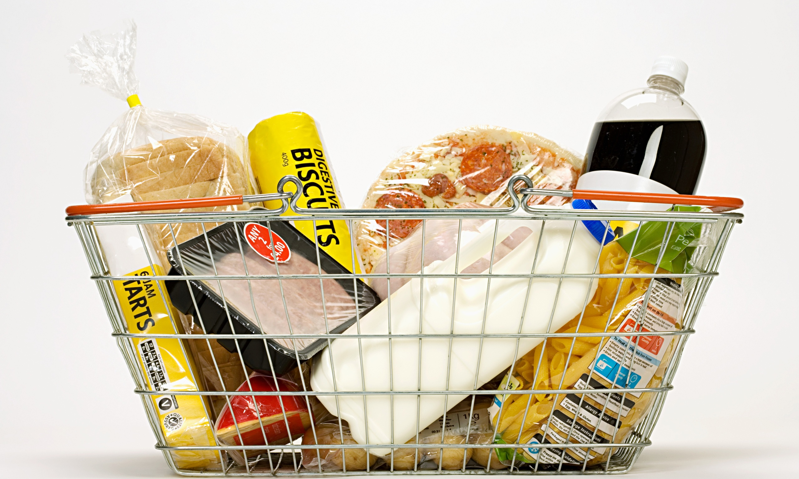 Bargain hungry shoppers damaging supermarket sales for Shopping cuisine