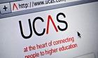 Ucas admissions website