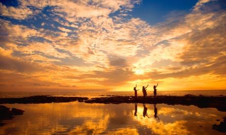 Pu'uhonua o Honaunau national historical park, South Kona, Hawaii