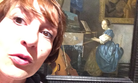 Zoe Williams and Vermeer's Young Woman Seated at a Virginal.