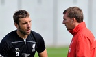 Brendan Rodgers and Rickie Lambert
