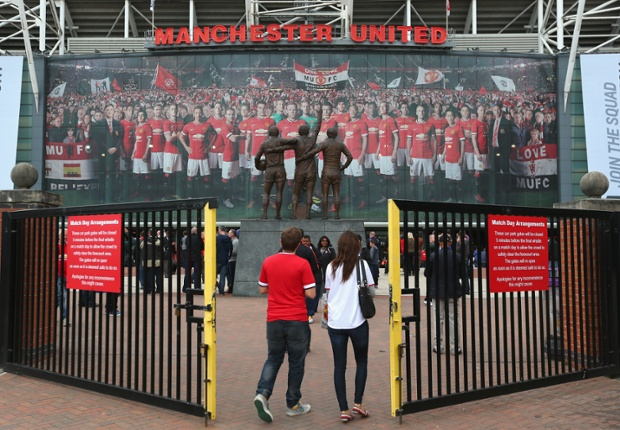 The gates are open and the new season begins at Old Trafford where Manchester United host Swansea City.