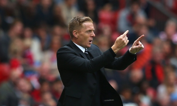 Swansea hold on, a great start for Garry Monk's first season in charge.