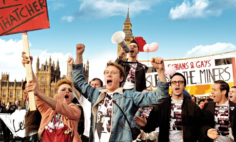 A still from the 2014 film Pride