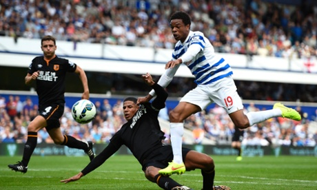 Loïc Rémy, right, looked sharp against Hull and could be vital to QPR's survival hopes.
