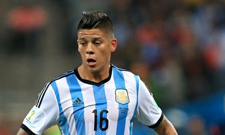 Soccer - Marcos Rojo File photo