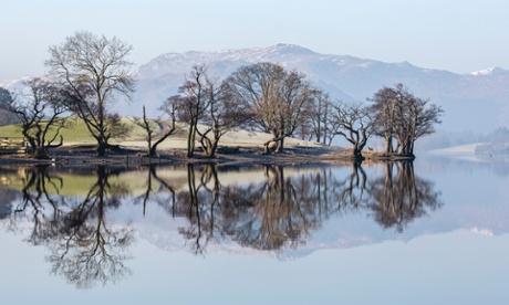 Pooley Bridge trees