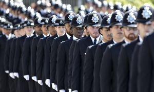 Metropolitan Police Passing Out Parade July 14, 2014