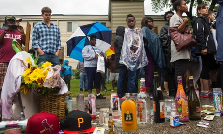 Michael Brown shooting site