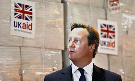 Prime Minister David Cameron Visits Aid Disaster Response Centre